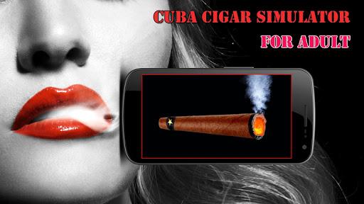 سيجارة وهمية للكبار