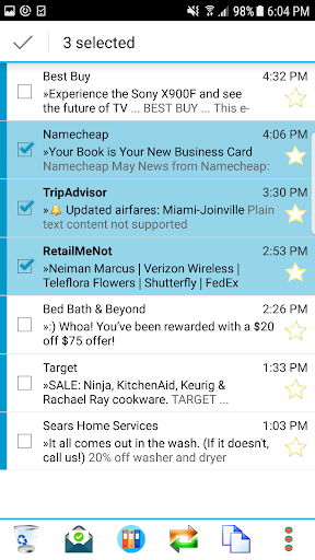 Email App for Android - MailTrust 57.7 screenshots 4