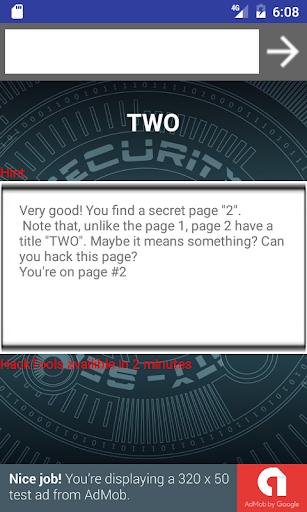 Hack test 3.0 screenshots 4