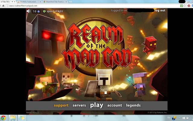 RotMG Fullscreen