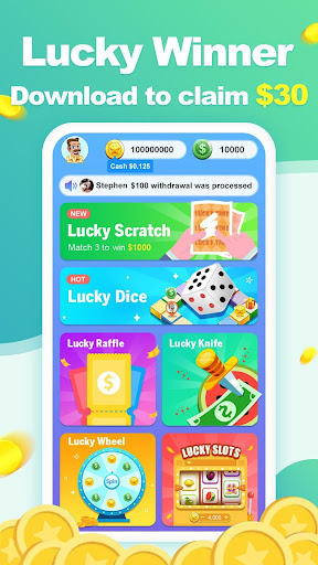 Lucky Winner - Real Prizes & Real Winners Everyday 1.2.0 screenshots 1