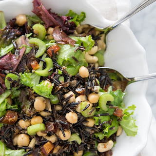 Wild Rice and Mixed Greens Salad