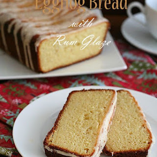 Eggnog Bread with Rum Glaze Recipe
