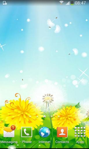 Dandelion Season Free LWP