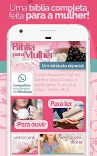 Bíblia Para Mulher - Feminina com Áudio MP3 - náhled
