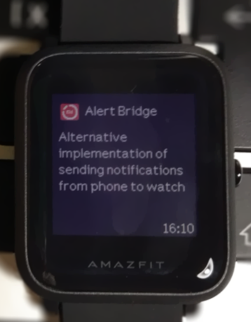 Alert Bridge for Amazafit Bip- screenshot