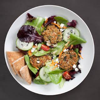 Baked Falafel Salad.