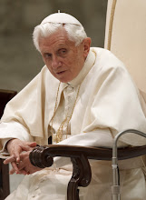 Photo: Pope Benedict XVI looks on during his general audience in Paul VI hall at the Vatican Nov. 28. (CNS photo/Paul Haring) (Nov. 28, 2012) See POPE-AUDIENCE Nov. 28, 2012.