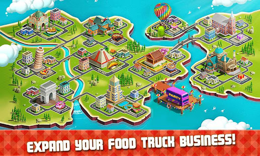 طاهي شاحنة بيع الطعام - لعبة الطهي Mod
