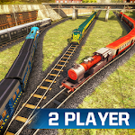 Indian Train Racing Games 3D Icon