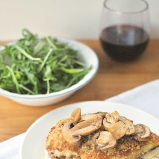 Chicken Marsala with Parmesan and Panko Bread Crumbs Topping + PayPal Giveaway.