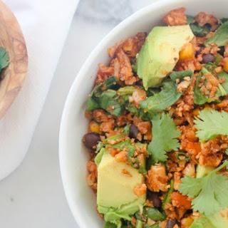 Mexican Cauliflower Rice Bowls.