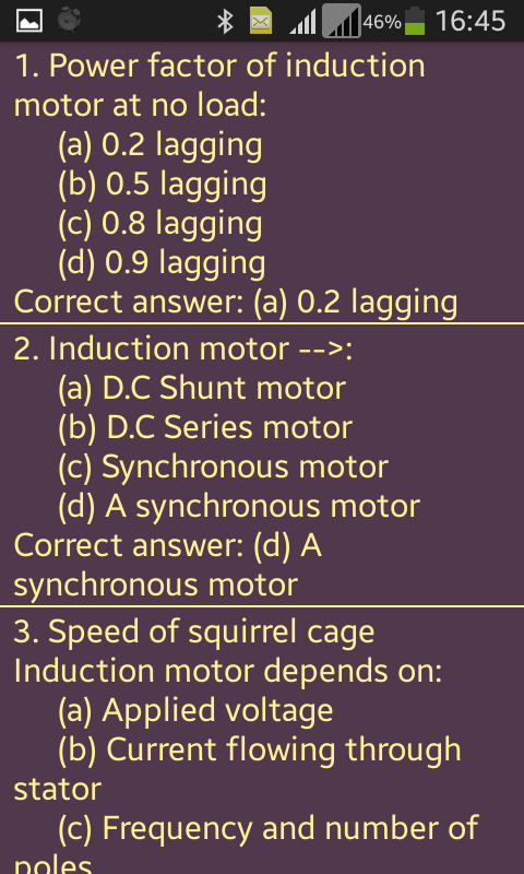 Induction Motor: AC Electrical Machines- screenshot