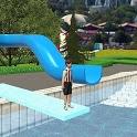 Water Slide Downhill Rush - Aquapark Game icon
