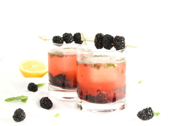 Blackberry Bourbon Smash Recipe