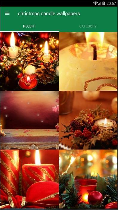 Christmas Candle Wallpaper Android Aplicaciones Appagg