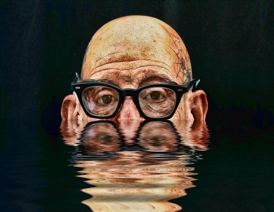 Black Glasses by Dennis Granzow - People Portraits of Men