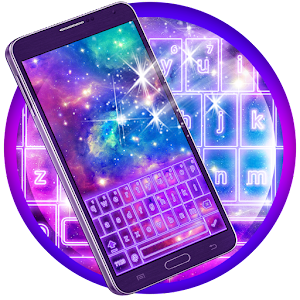 Download Colorful Galaxy Keyboard Theme for PC