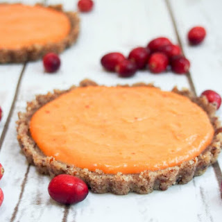 Cranberry Lemon Curd Tart (No Bake, Gluten Free) Recipe