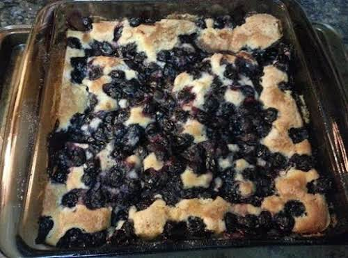 """Click Here for Recipe: Best in Show Blackberry Cobbler """"I did make..."""