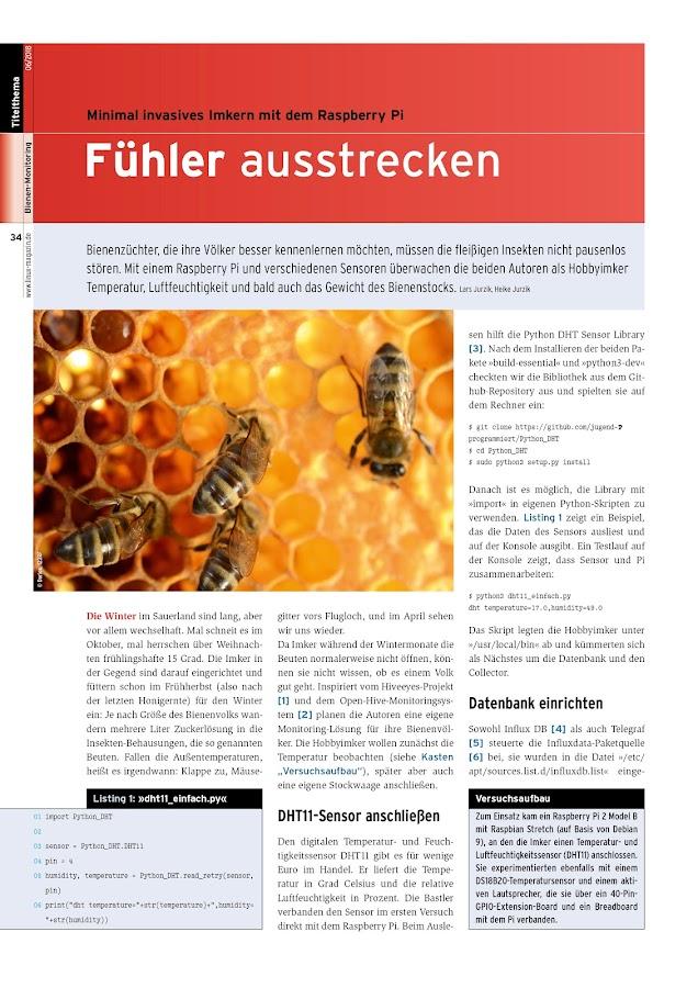 Linux-Magazin- screenshot