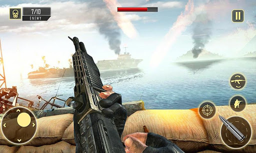 World War 2 Army Squad Heroes : Fps Shooting Games 1.0.7 de.gamequotes.net 4