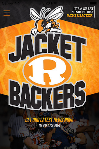 Jacket Backer Booster Club