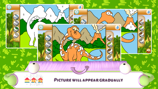 Paint by Numbers - Dinosaurs 2.2 screenshots 5