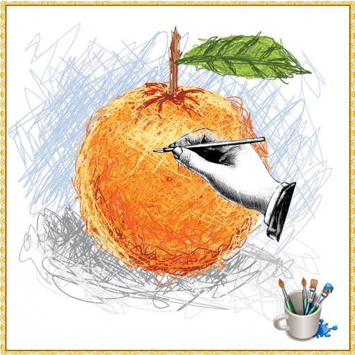 Drawing to Fruit Cartoon