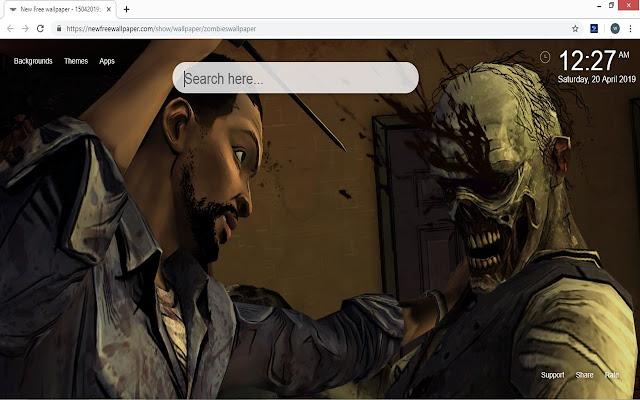 Zombies HD Tab Themes