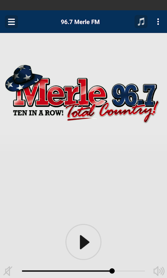 96.7 Merle FM- screenshot