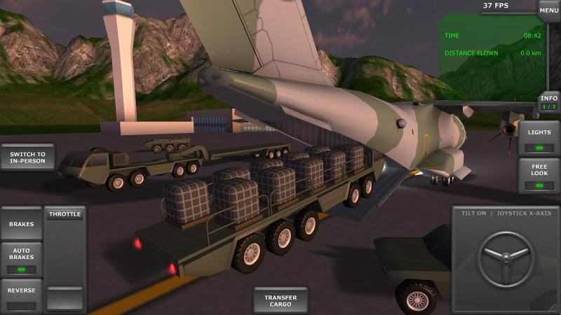 Turboprop Flight Simulator 3D Screenshot 7