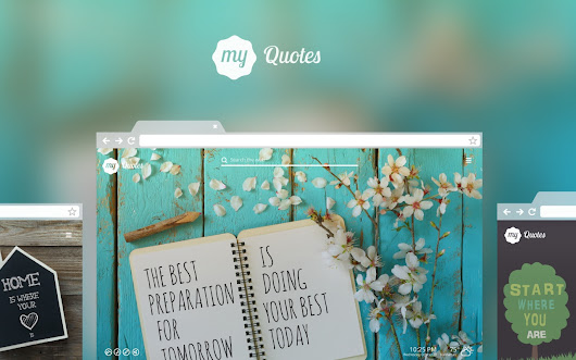 My Quotes New Tab