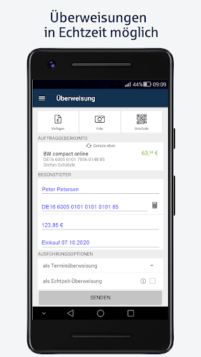 BW-Mobilbanking mit Smartphone und Tablet  screenshots 2