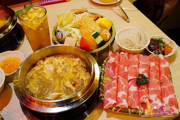 獨品鍋東南亞風味 新鮮天然香料熬煮 南洋風味個人迷你火鍋(附飲料甜點)