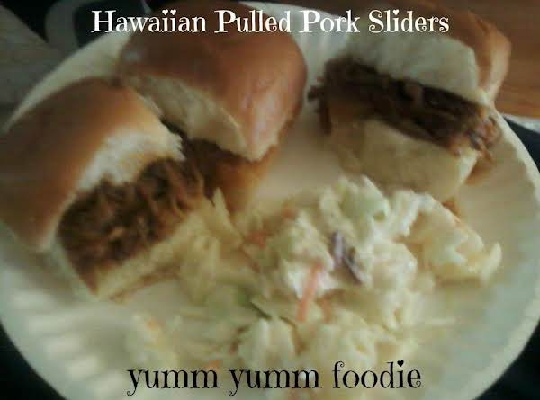 Hawaiian Pulled Pork Sandwiches Recipe