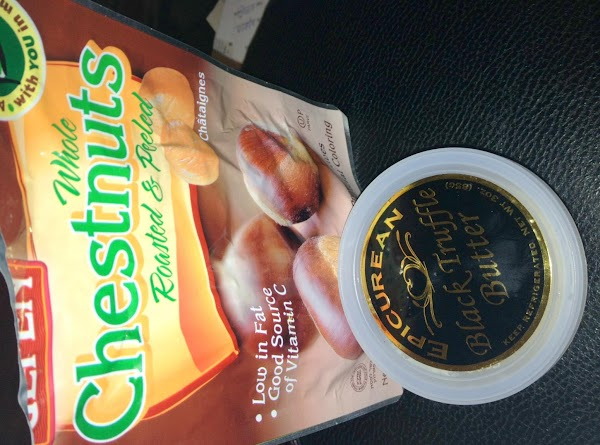 This is the chestnuts and truffle butter I used.