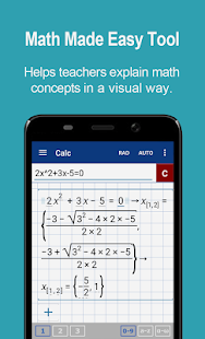 Graphing Calculator + Math PRO Screenshot