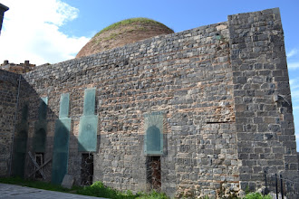 Photo: An old building inside the prison, once used to be an Armenian church