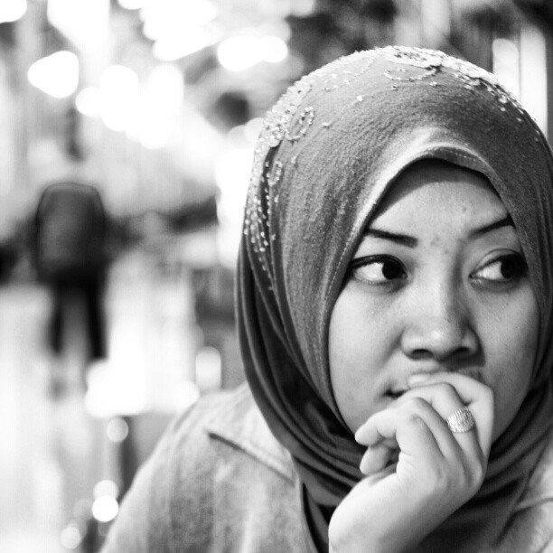 My wife by Amri S - People Portraits of Women
