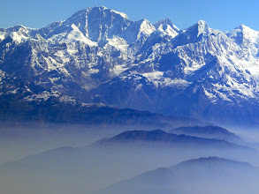Photo: Auf dem Flug von Kathmandu nach Paro (Bhutan)