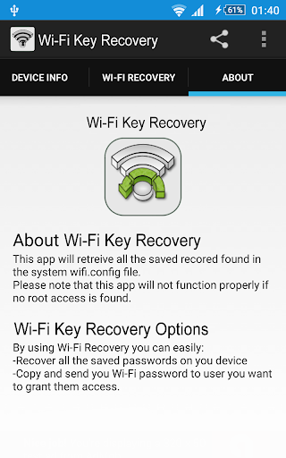 Download WiFi Key Recovery for PC
