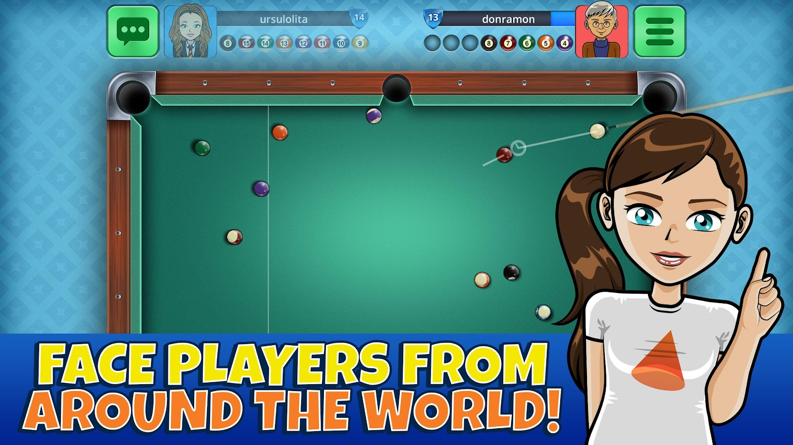 Pool Casual Arena - Billiards- screenshot