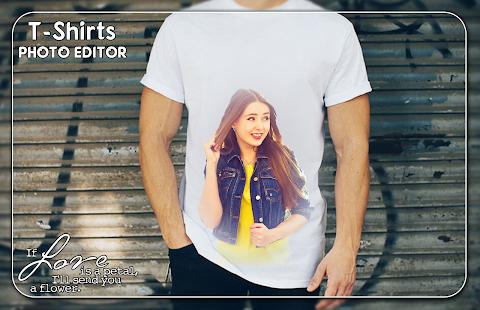 T-shirts Photo Editor - náhled