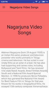 Nagarjuna Hit Video Songs - náhled