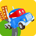 Car City World: Little Kids Play Watch TV & Learn icon