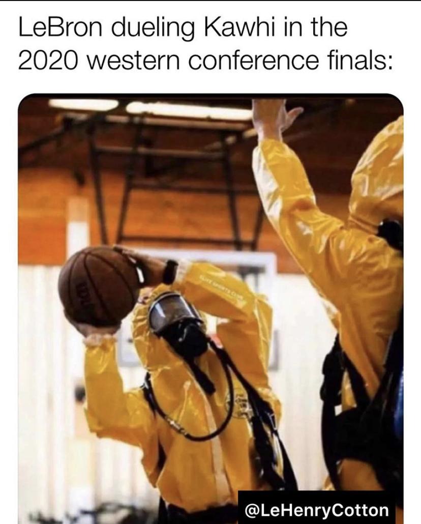 NBA Coronavirus Meme: