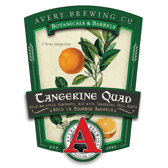 Logo of Avery Bourbon Barrel Aged Tangerine Quad