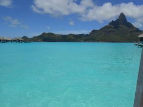 Photo: Sí, el agua es de color turquesa