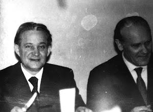 Photo: Studniówka 1974 r. Konstanty Sielepin, Alfred Ludynia